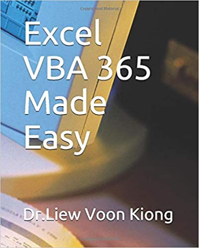 Excel VBA 365 Made Easy